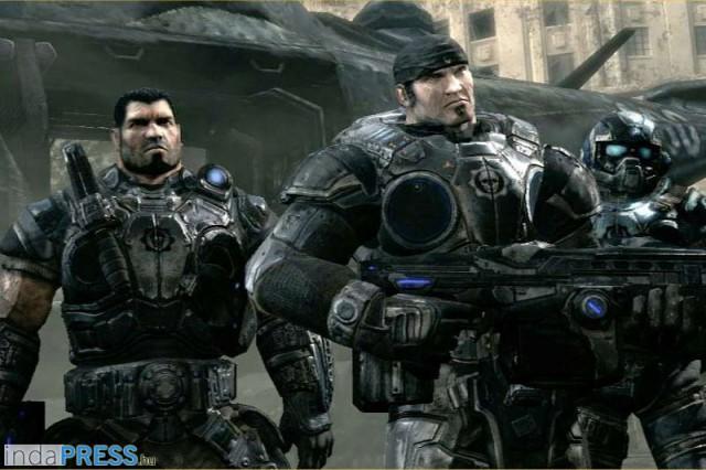 Marcus Fenix Team, Gears of War, Xbox Game - refplay.hu magazin, Sarkadi Roland