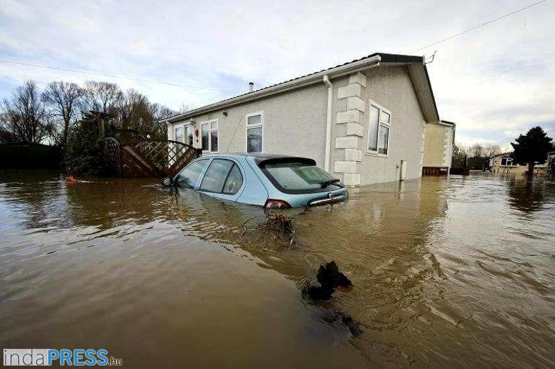 Áldozatok az árvíz miatt Brazíliában