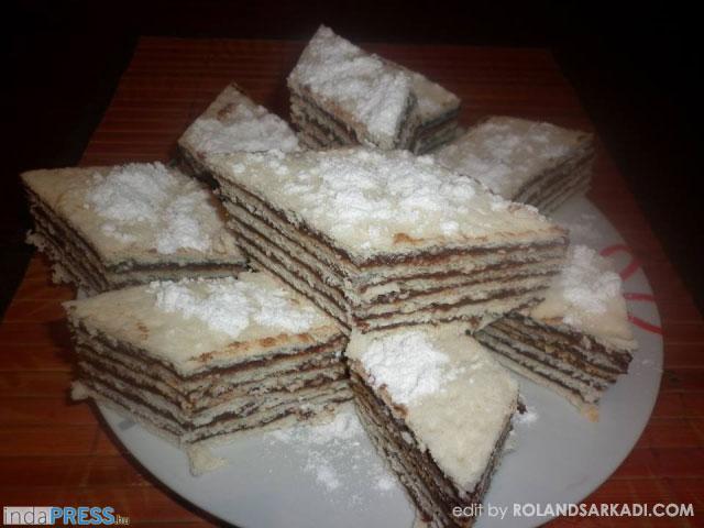 Recept:Hatlapos sütemény karácsonyra
