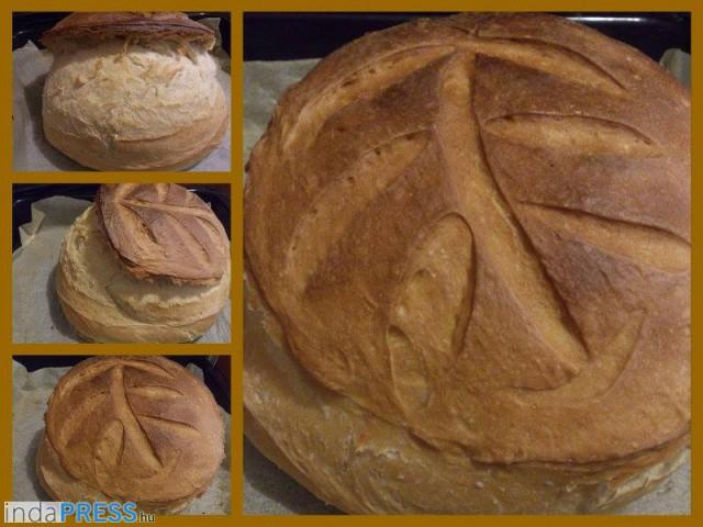Recept: Házi kovászolt kenyér, refplay.hu receptek