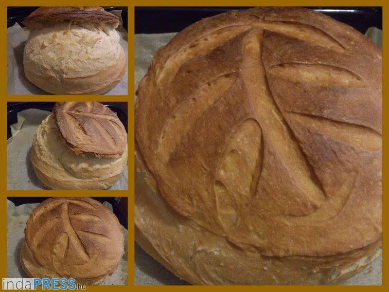 Recept: Házi kovászolt kenyér sütés, ízletes, mutatós, egészséges