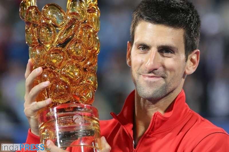 Megnyerte Novak Djokovic az Abu-Dzabi tenisztornát