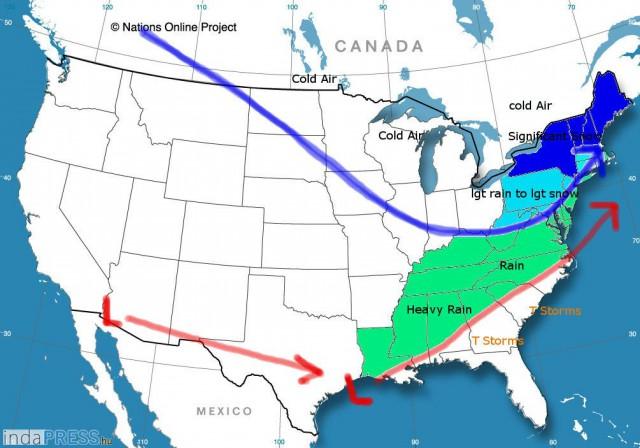Extrém hideg Amerikában (US)