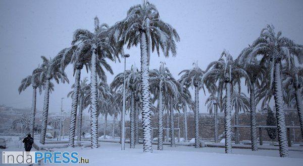 Brutális hideg Amerikában, akár -50 fok is lehet