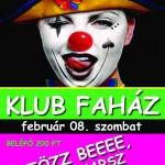 indapress.hu - Programok, buli, Mosonmagyaróvár, Klub faház - öltözz be, 2014február
