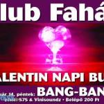 Valentin nap buli, indapress.hu - Programok, buli, Mosonmagyaróvár, Klub faház, 2014.február