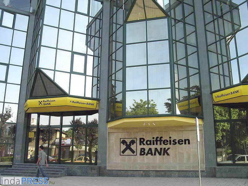 1 Euro a Reaifaisen bank Magyarországon?