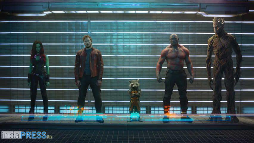 A galaxis őrzői film, Vin Diesel és a Marvel! online előzetes
