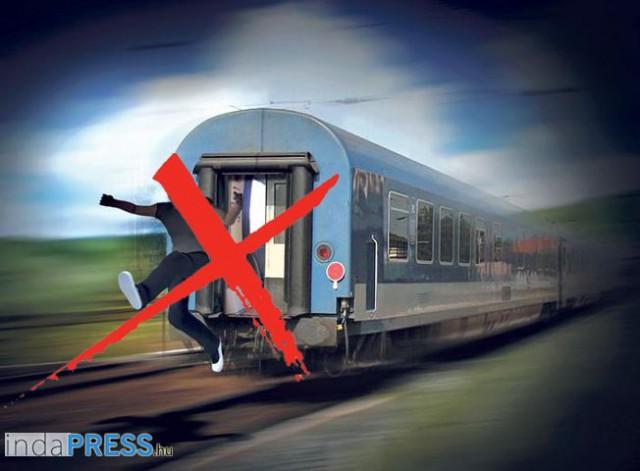 refplay.hu hírek, Ha mozog a vonat, ne ugorj!