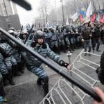 Rendőrség és a tömeg - Végjáték, Kijelv és az Ukrán pol