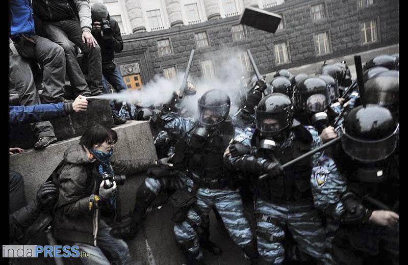 Végjáték, Kijelv és az Ukrán polgárháború