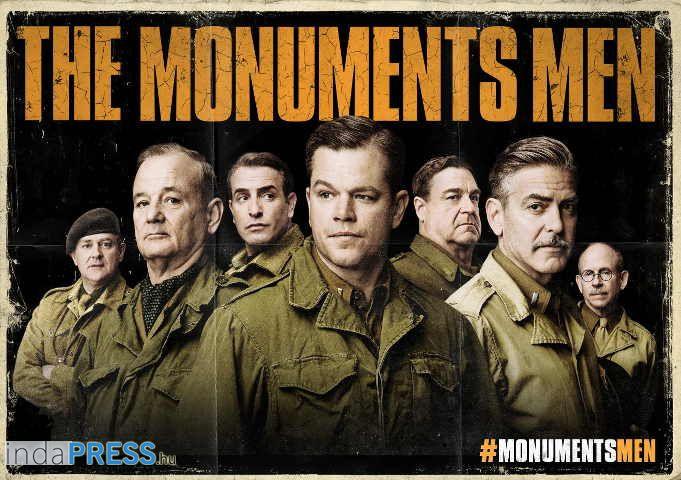 Műkincsvadászok film, online előzetes, George Clooney Hitler ellen