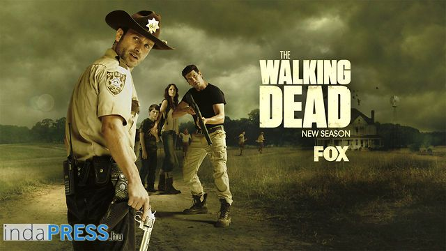 The Walking Dead sorozat a FOX-on, online előzetes