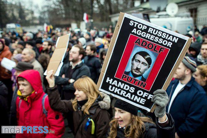 III. Világháború kezdete az Ukrán helyzet, vagy csak orosz megszállás?