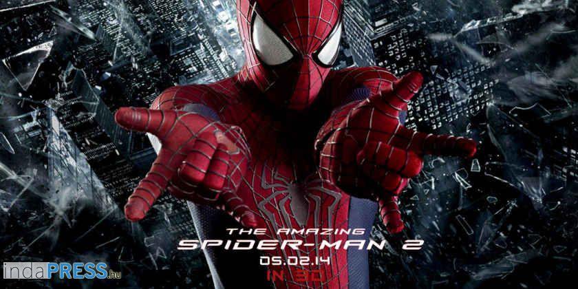 A csodálatos pókember 2. film, online előzetes