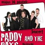 indapress.hu Mosonmagyaróvár koncertek, bulik - Klub Faház, Paddy and the Rats koncert