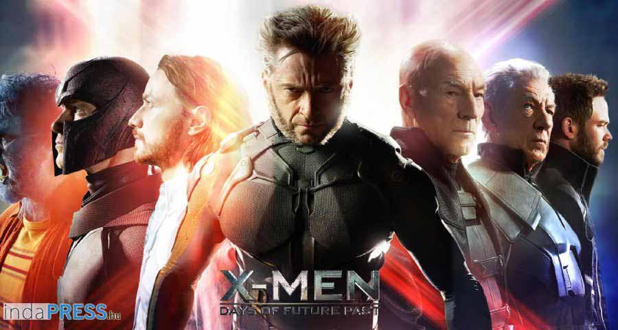 X-men Az eljövendő múlt napjai film, online előzetes