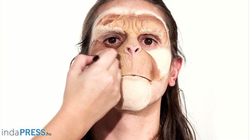 Majomkodunk, így készülnek az emberi majmok