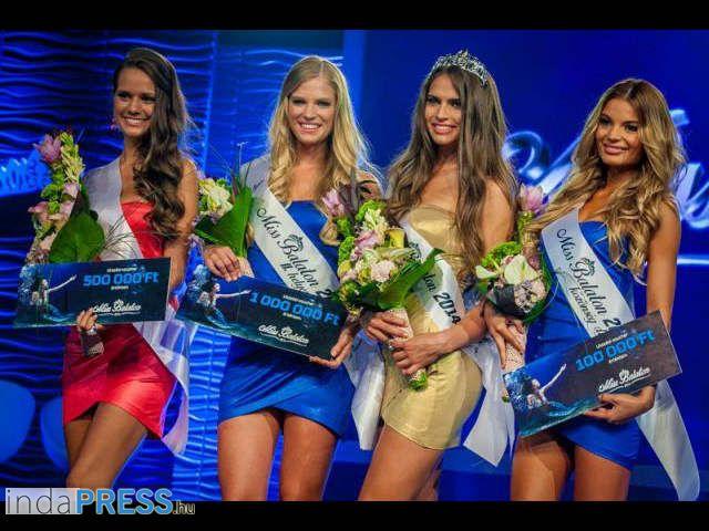 Dögös győztesek, Miss Balaton 2014