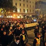 INDAPRESS.HU -  2014.10.26. Budapest, Internetadó elleni tüntetés