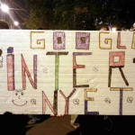 INDAPRESS.HU - Transzparens az internetadó ellen