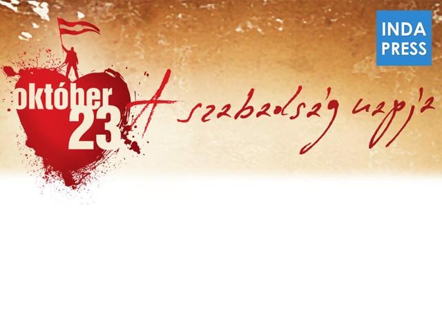 1956 Október 23. – Az 1956-os forradalom kitörése.