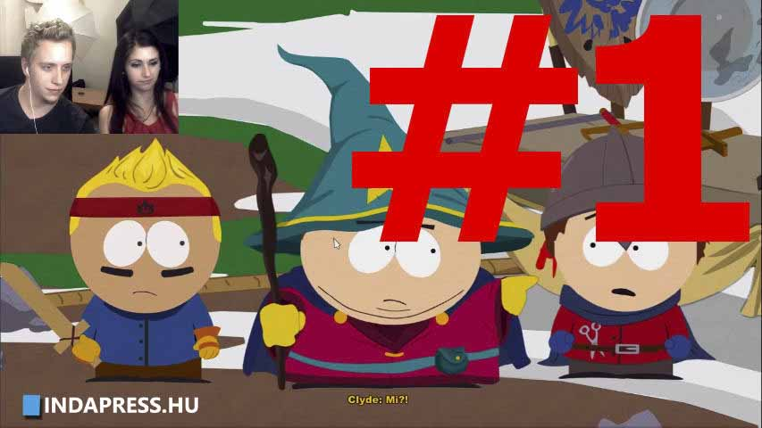 NE VERD, MENJ KI! | South Park The Stick of Truth #1 | REFPLAY.HU Gameplay