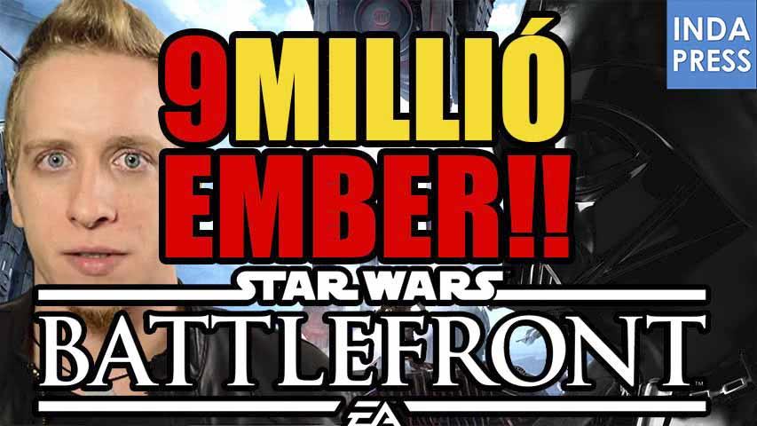 9 MILLIÓ! Köszönjük! | Star Wars Battlefront Beta