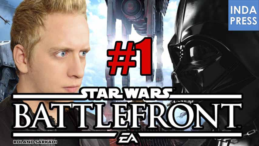 AZ ERŐ VELEM VAN! | Star Wars Battlefront Beta Gameplay