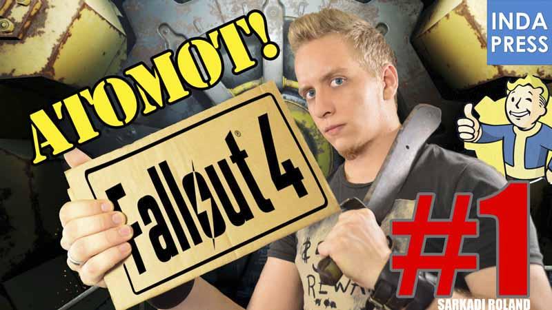 ATOMOT AKAROK! | Fallout 4 | Magyar gameplay #1