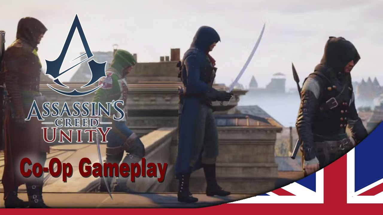 Assassin's Creed Unity co-op módban, részlet a játékból. Gameplay