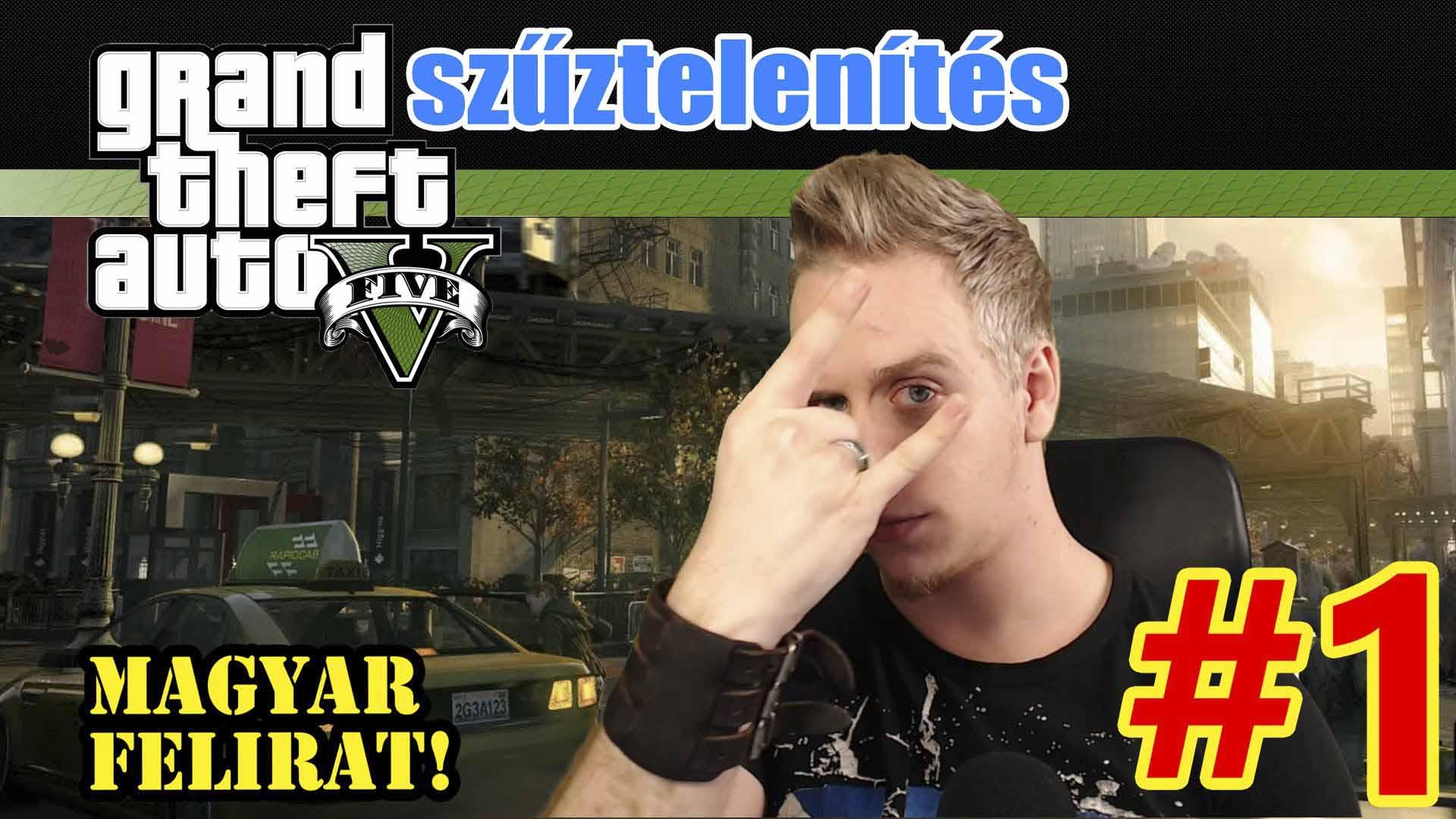 SZŰZTELENÍTÉS!!! | Grand Theft Auto 5 | Magyar Gameplay