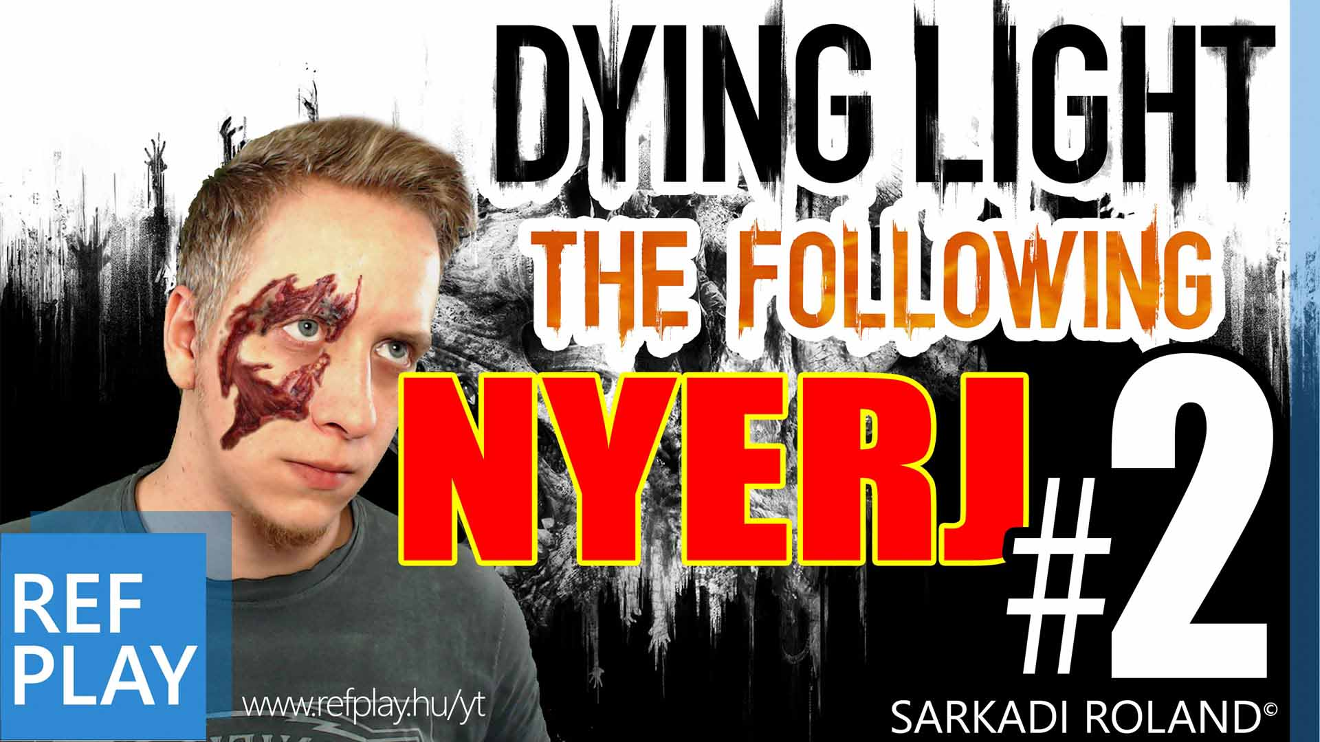 BOLDOG NŐNAPOT!! | Dying Light The Following #2 | MAGYAR GAMEPLAY