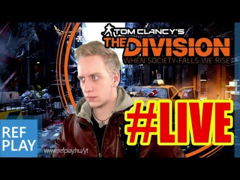 Egy kis Béta pihenés | THE DIVISION LIVE #1 | MAGYAR GAMEPLAY