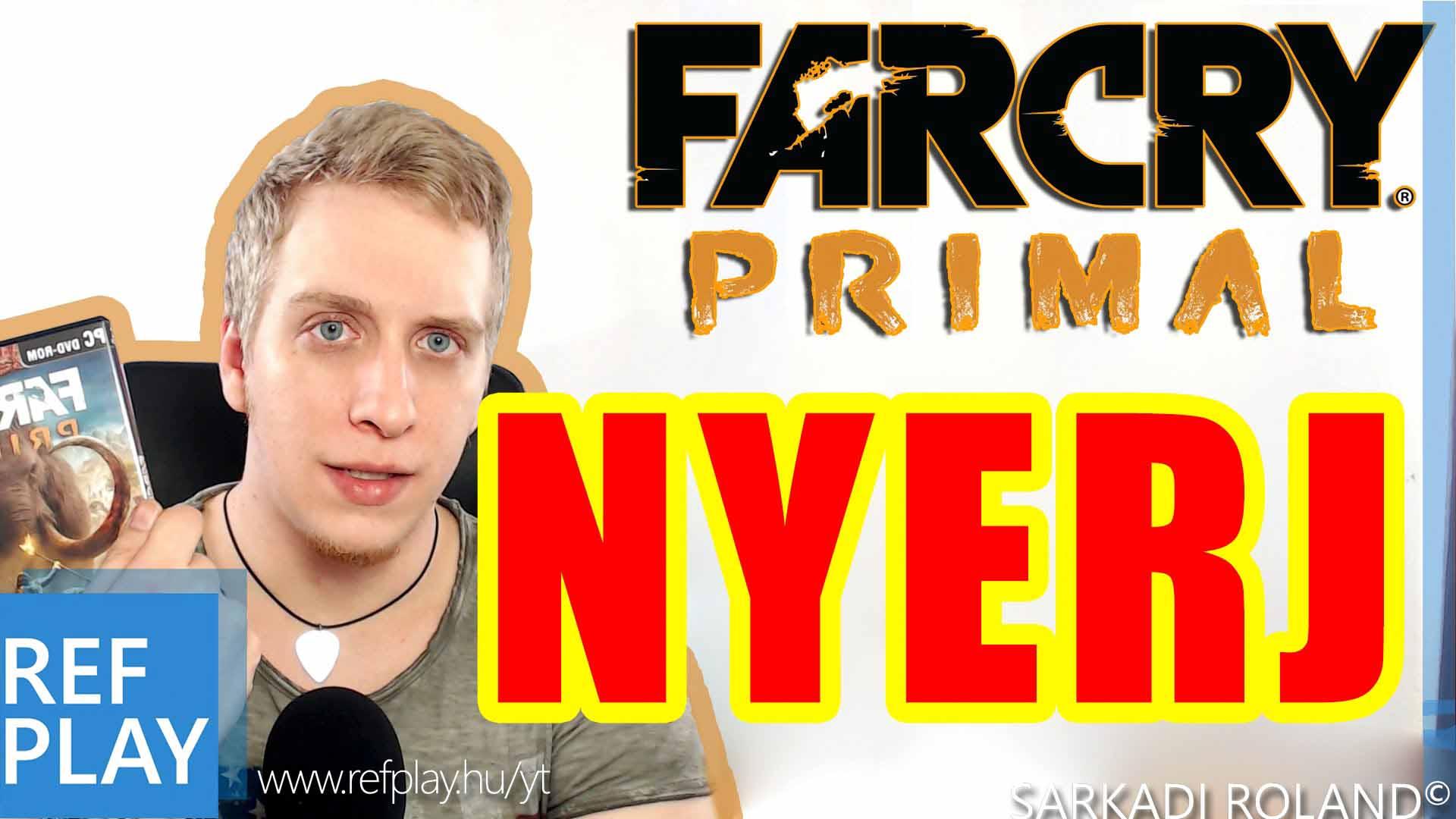 NYEREMÉNYJÁTÉK!!! | FAR CRY PRIMAL GAME