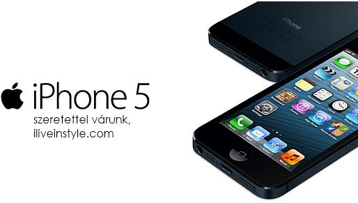 iPhone 5, már várunk