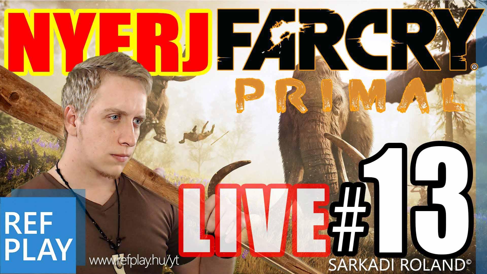 BOSS HARC!! | Far Cry Primal 13.rész | Magyar végigjátszás