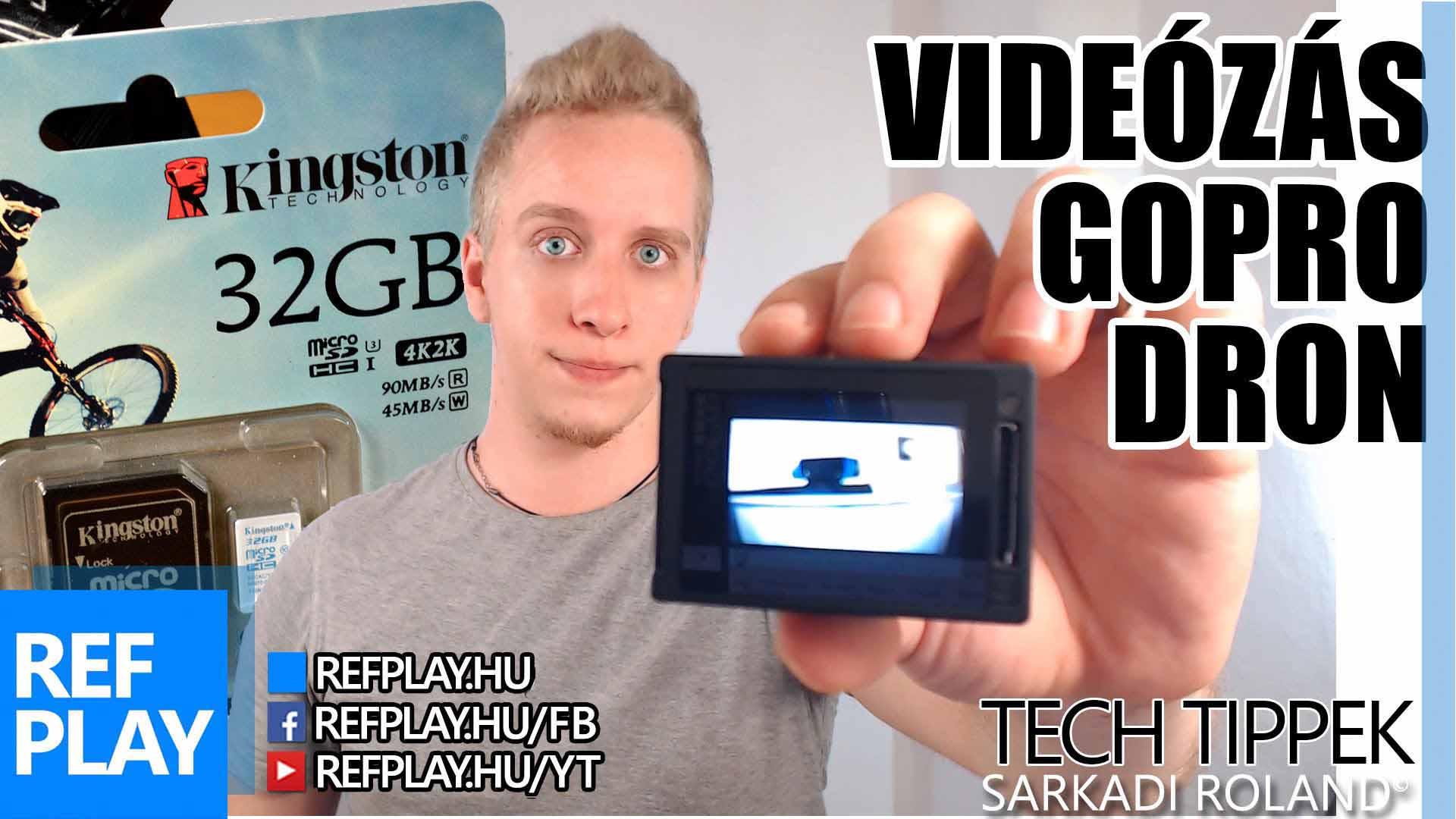 GOPRO, DRONE és VIDEÓSOKNAK memóriakártya! | Kingston SDCAC microSD | TECH TIPPEK