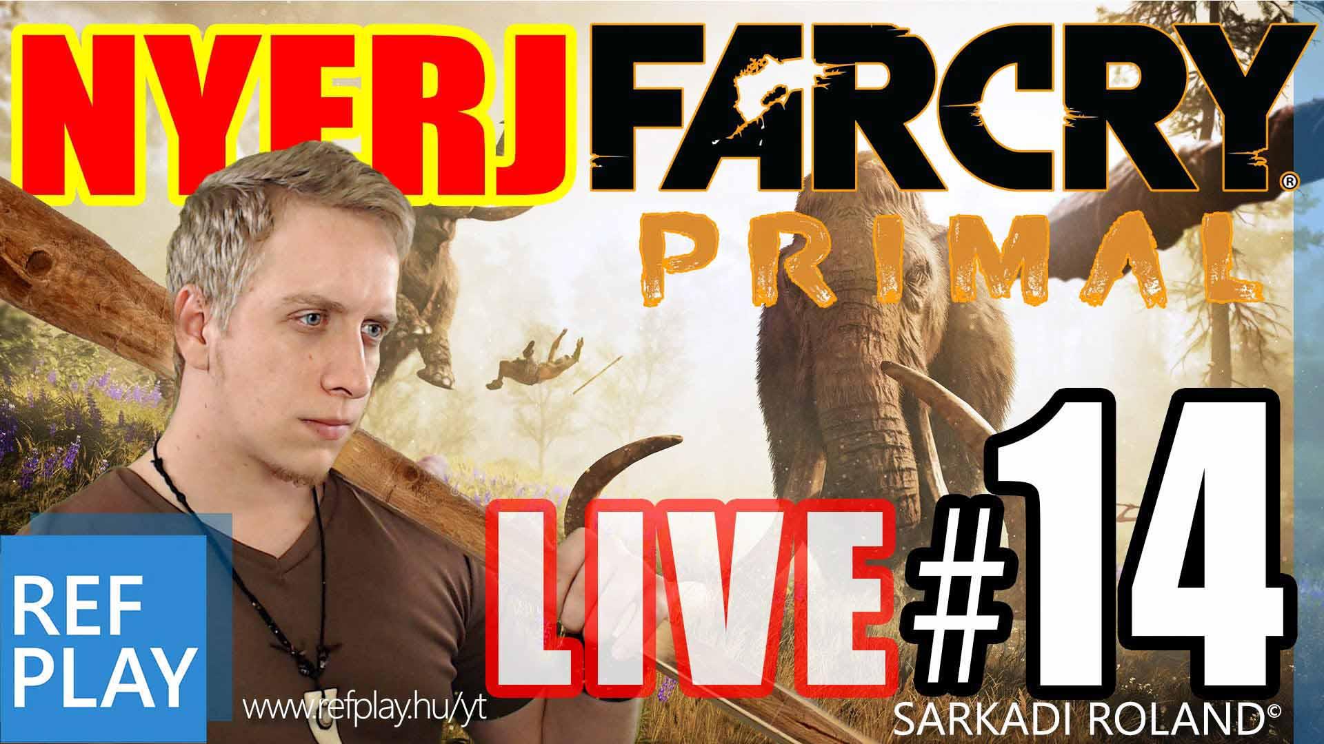 KÉK CICIS | Far Cry Primal  14.rész | Magyar végigjátszás