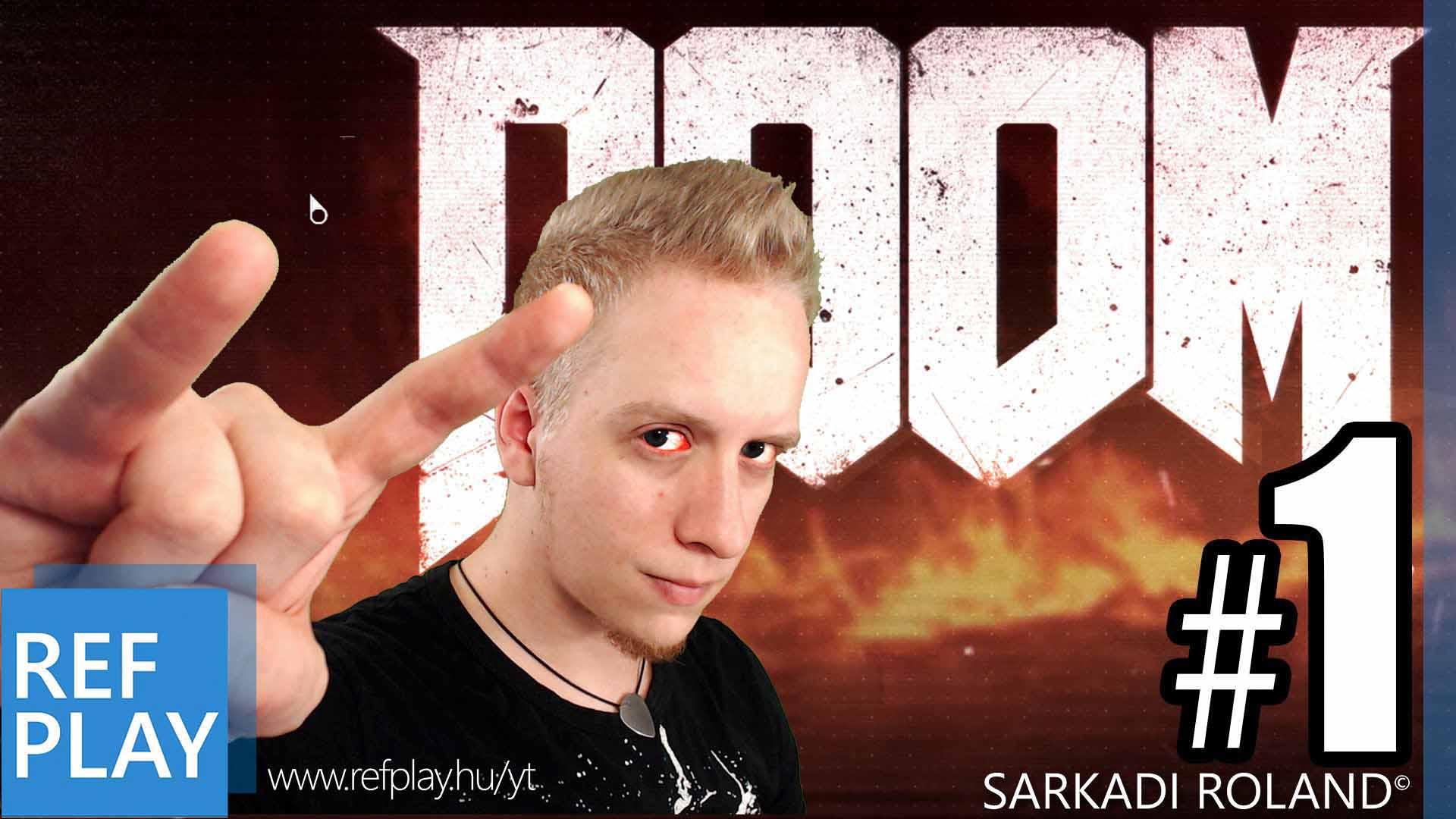 MULTI CAFATOLÁS!!! Doom 4 | Magyar gameplay