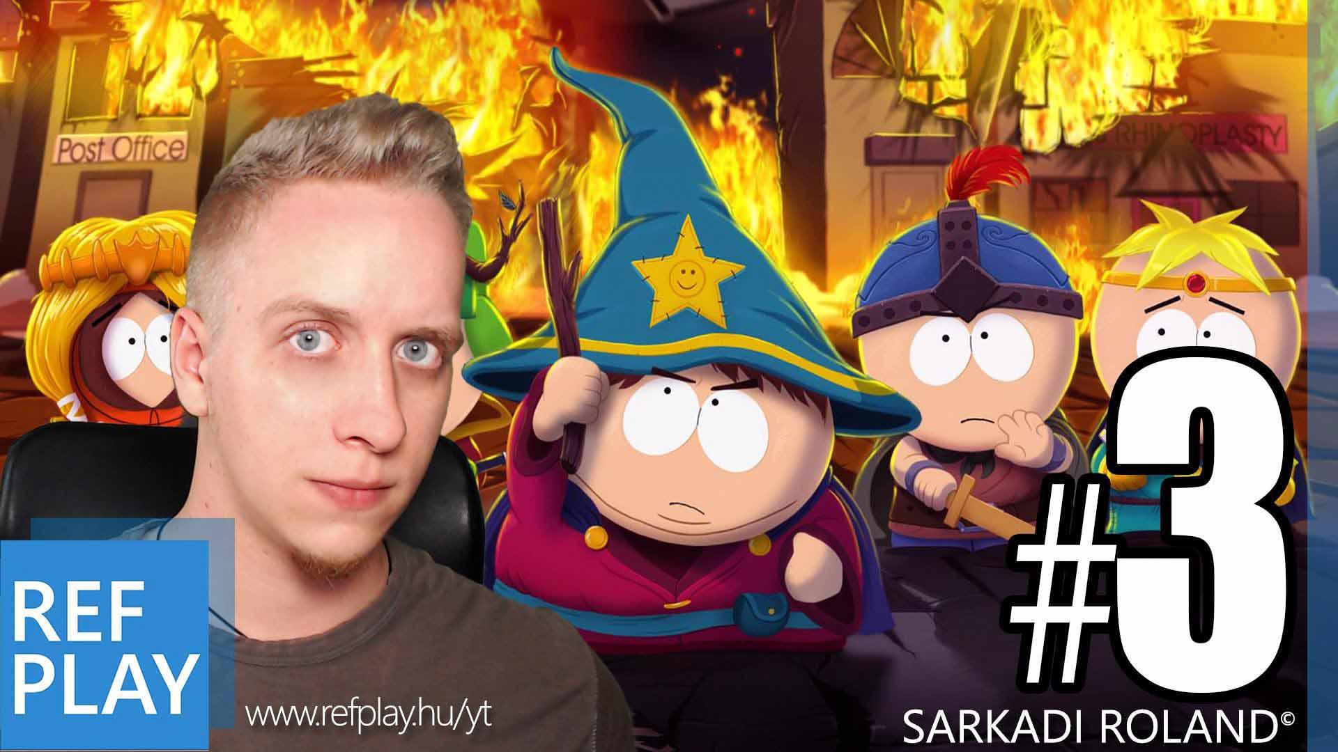 ÖKLÖZZÜK MEG! és gitározás | South Park The Stick of Truth 3.rész | Magyar végigjátszás