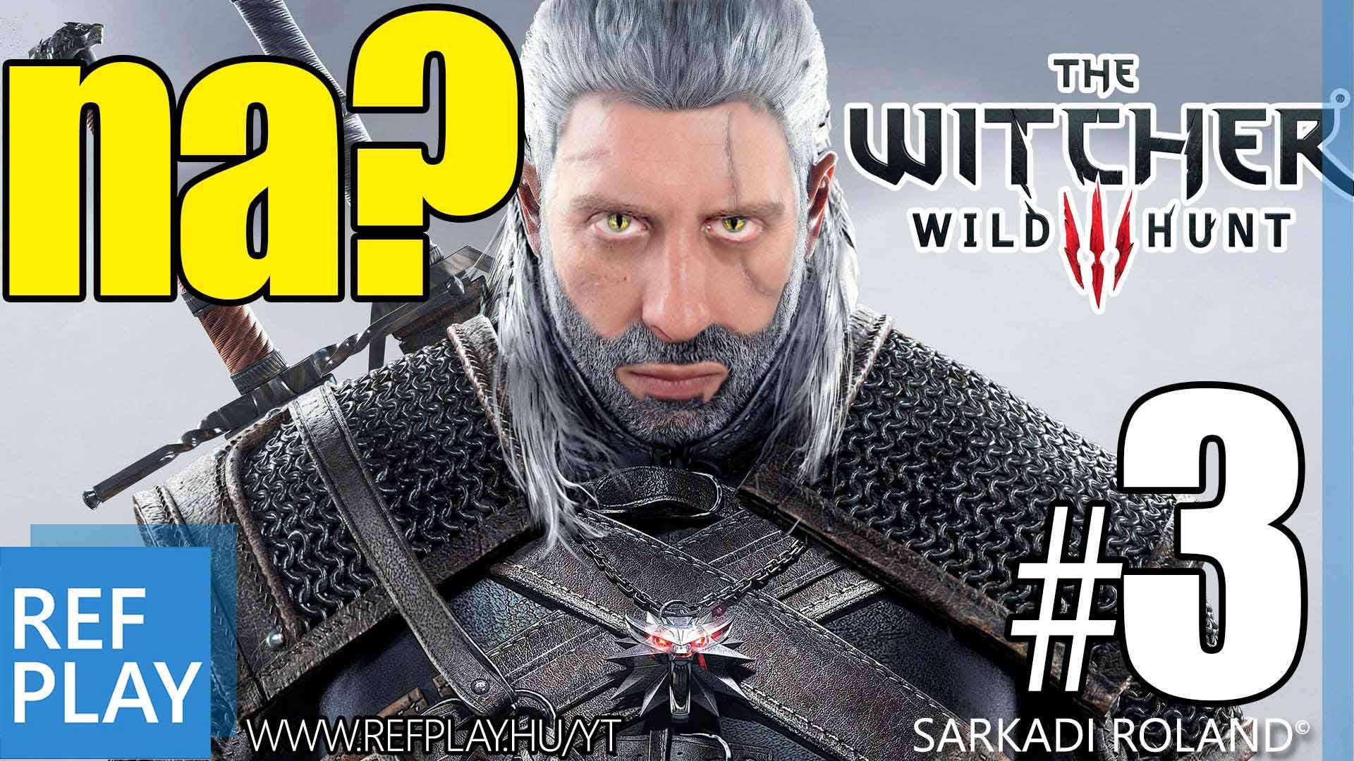 TRÓNOK HARCA MÓDI | The Witcher 3 Wild Hunt 3.rész | Magyar végigjátszás