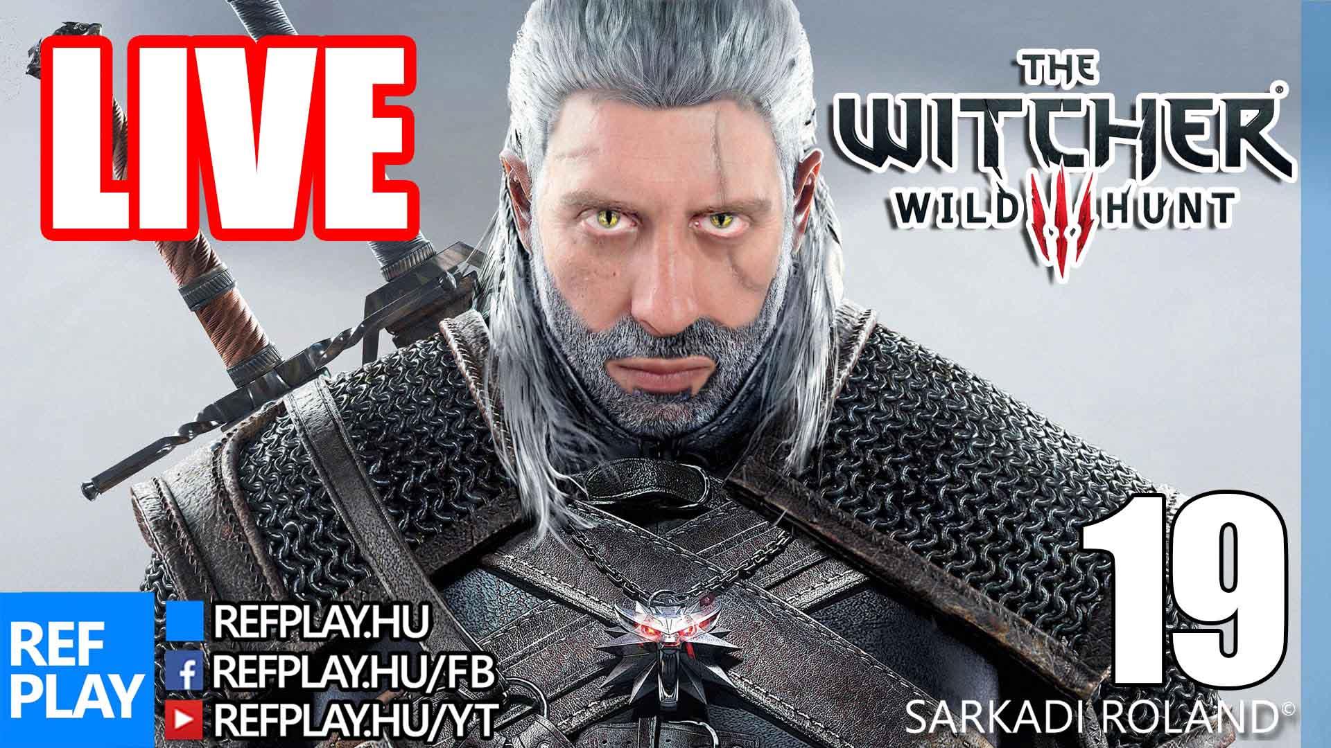 ELKAPOM A VADAKAT  | The Witcher 3 Wild Hunt #19 | Magyar végigjátszás | REFPLAY