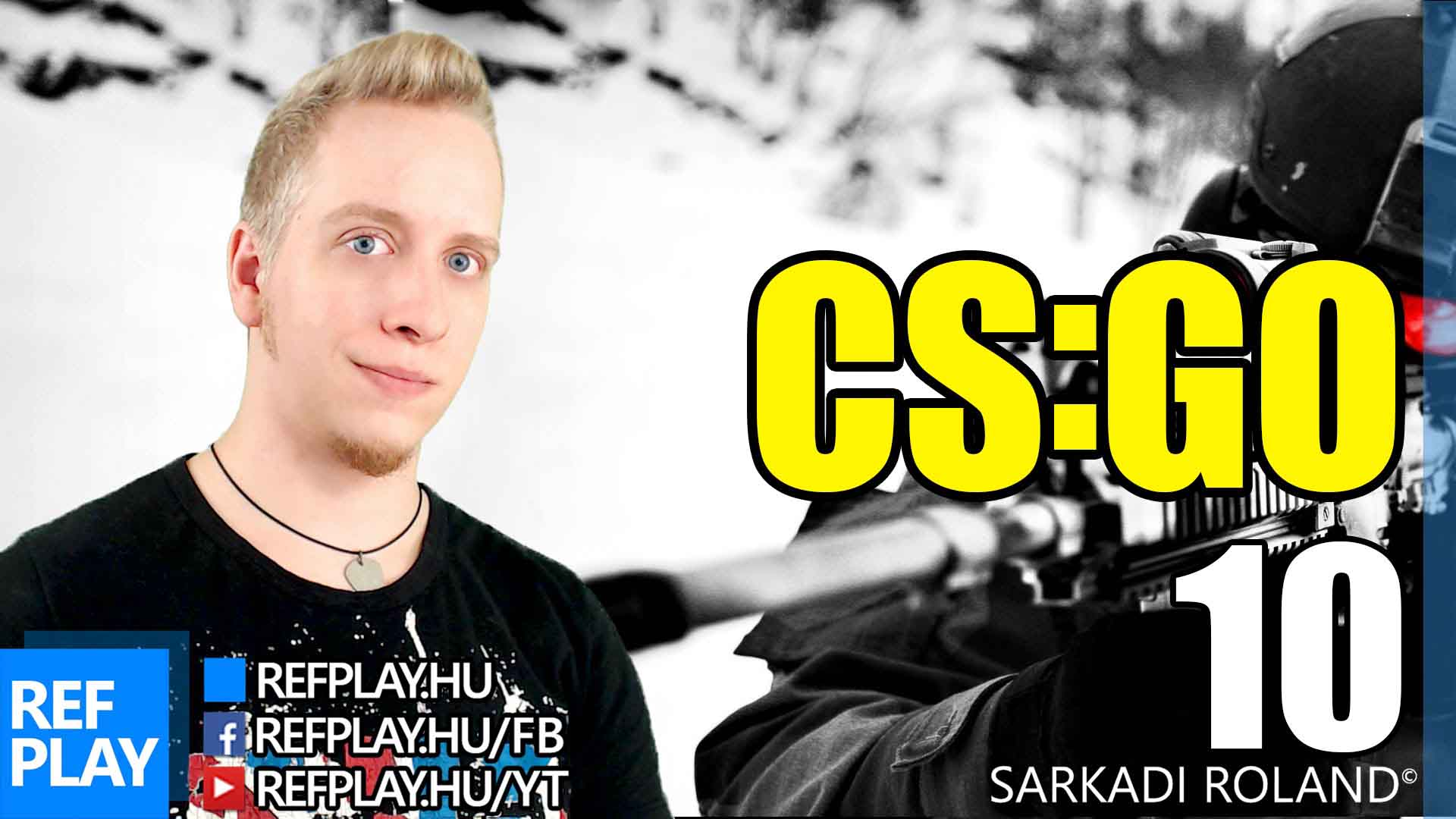 LIVE JÁTÉK NÉZŐKKEL | CS:GO #10 | Magyar gameplay | REFPLAY