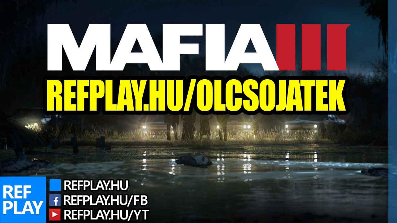 MAFIA III játék vásárlás olcsón, jó áron!