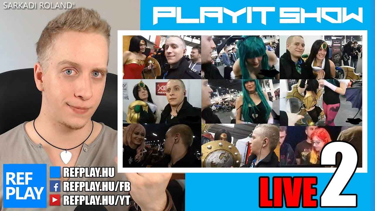 PlayIT Live #2 | ROCK VLOG | REFPLAY