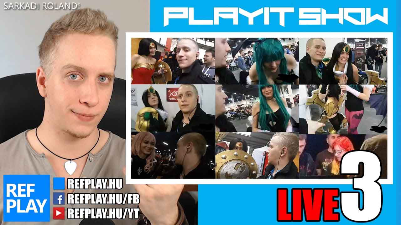 PlayIT Live #3 | ROCK VLOG | REFPLAY
