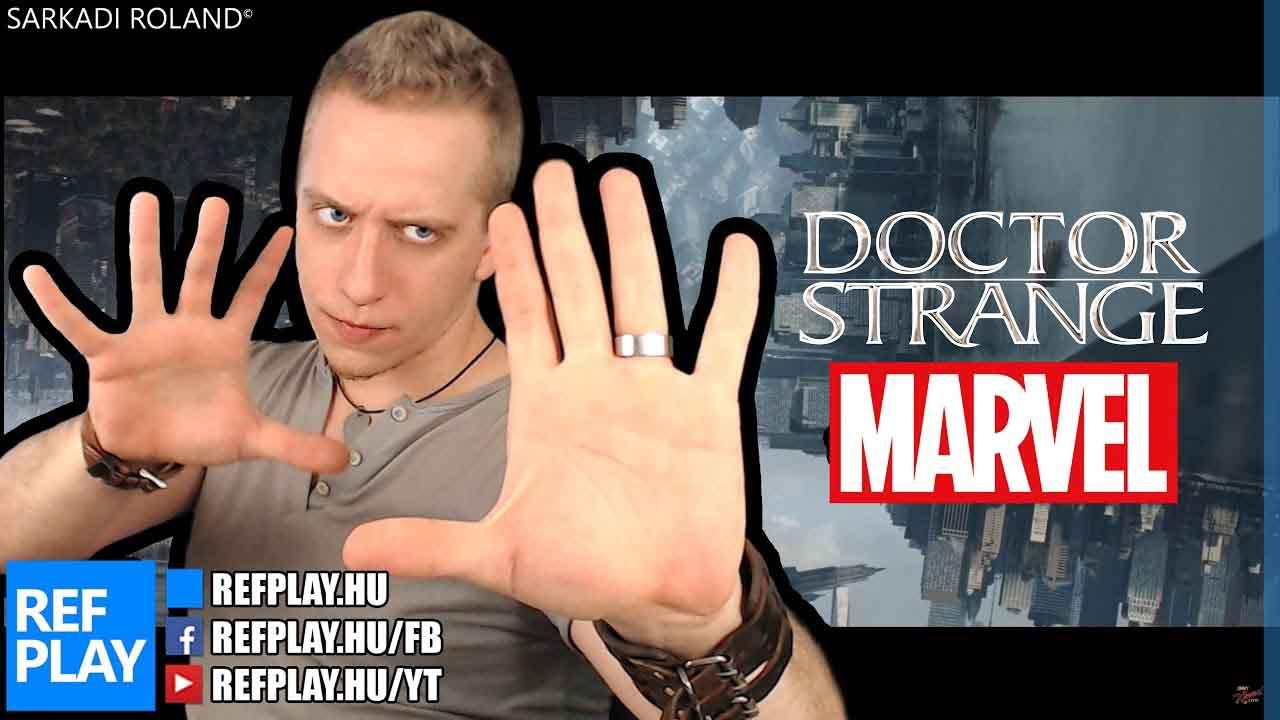 ÉN VAGYOK Doctor Strange | ROCK VLOG | REFPLAY