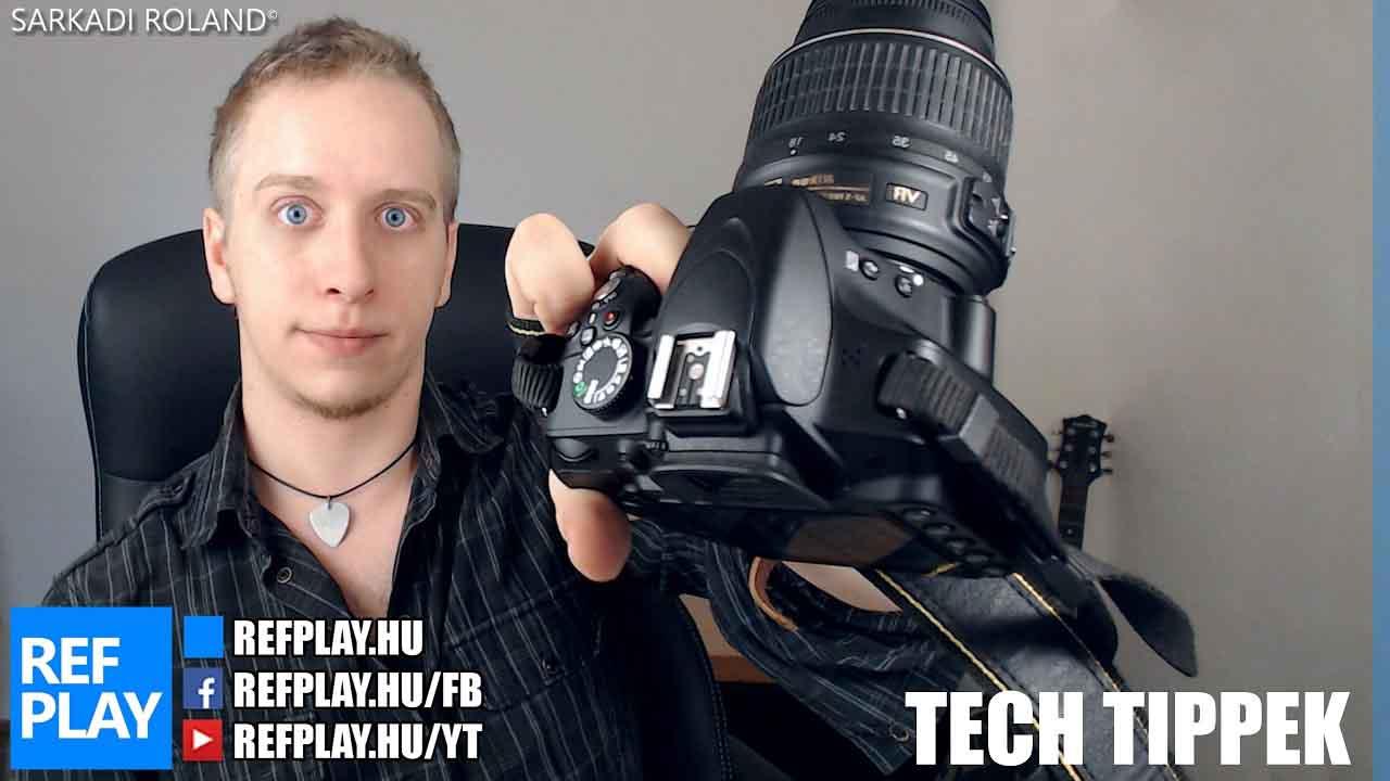 Videósoknak is NIKON D3200 bemutató, teszt, unboxing | TECH TIPPEK | REFPLAY