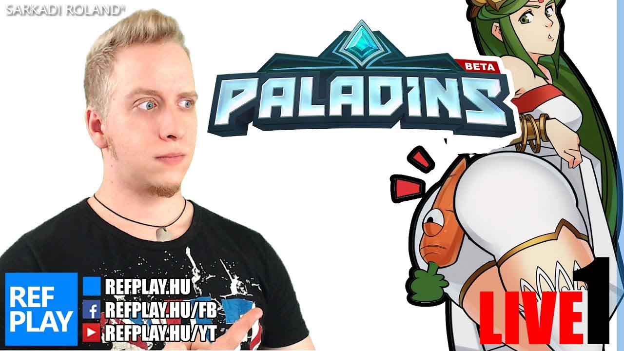 INGYEN Overwatch alternatíva? | Paladins | Magyar gameplay | REFPLAY